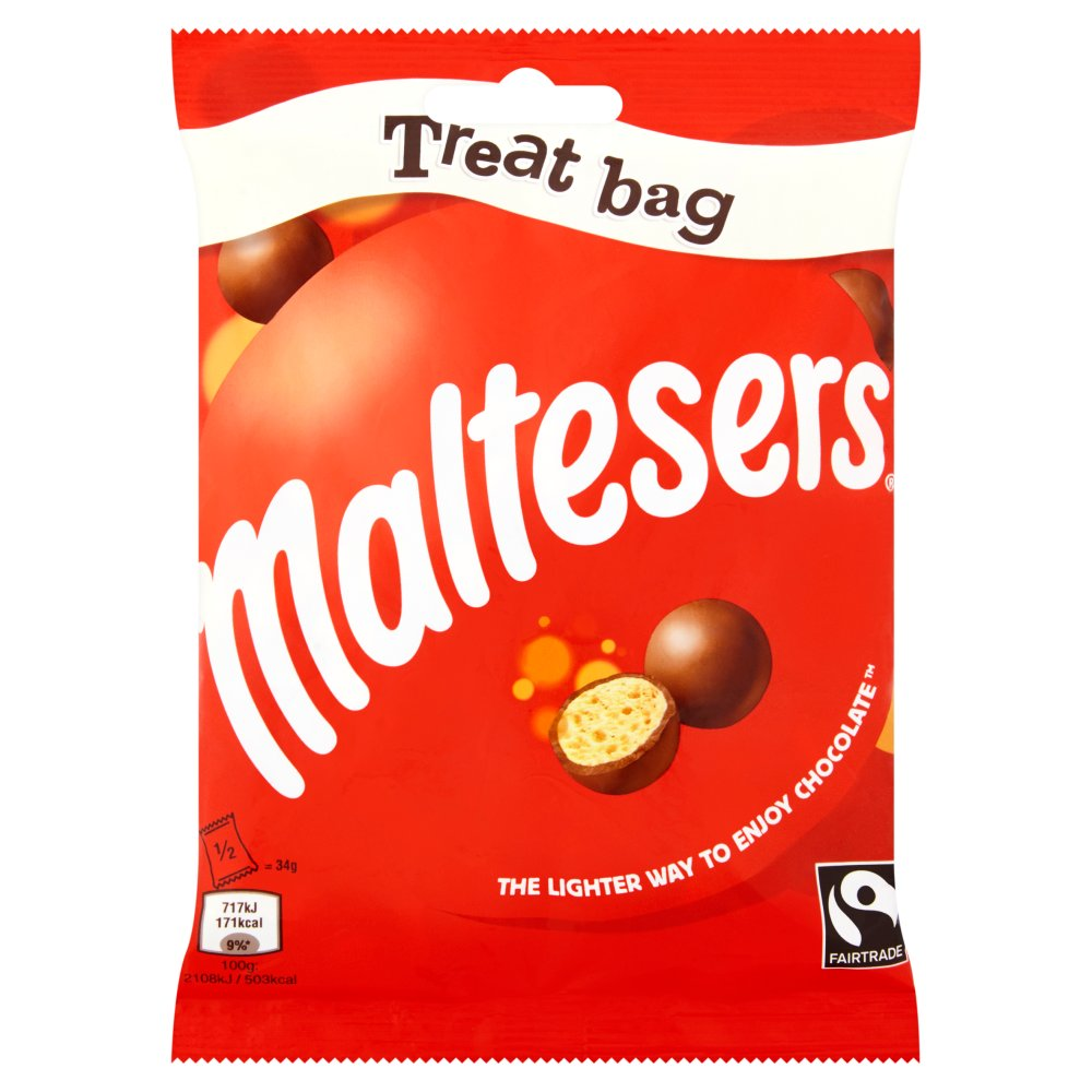 Maltesers Chocolate Treat Bag 68g