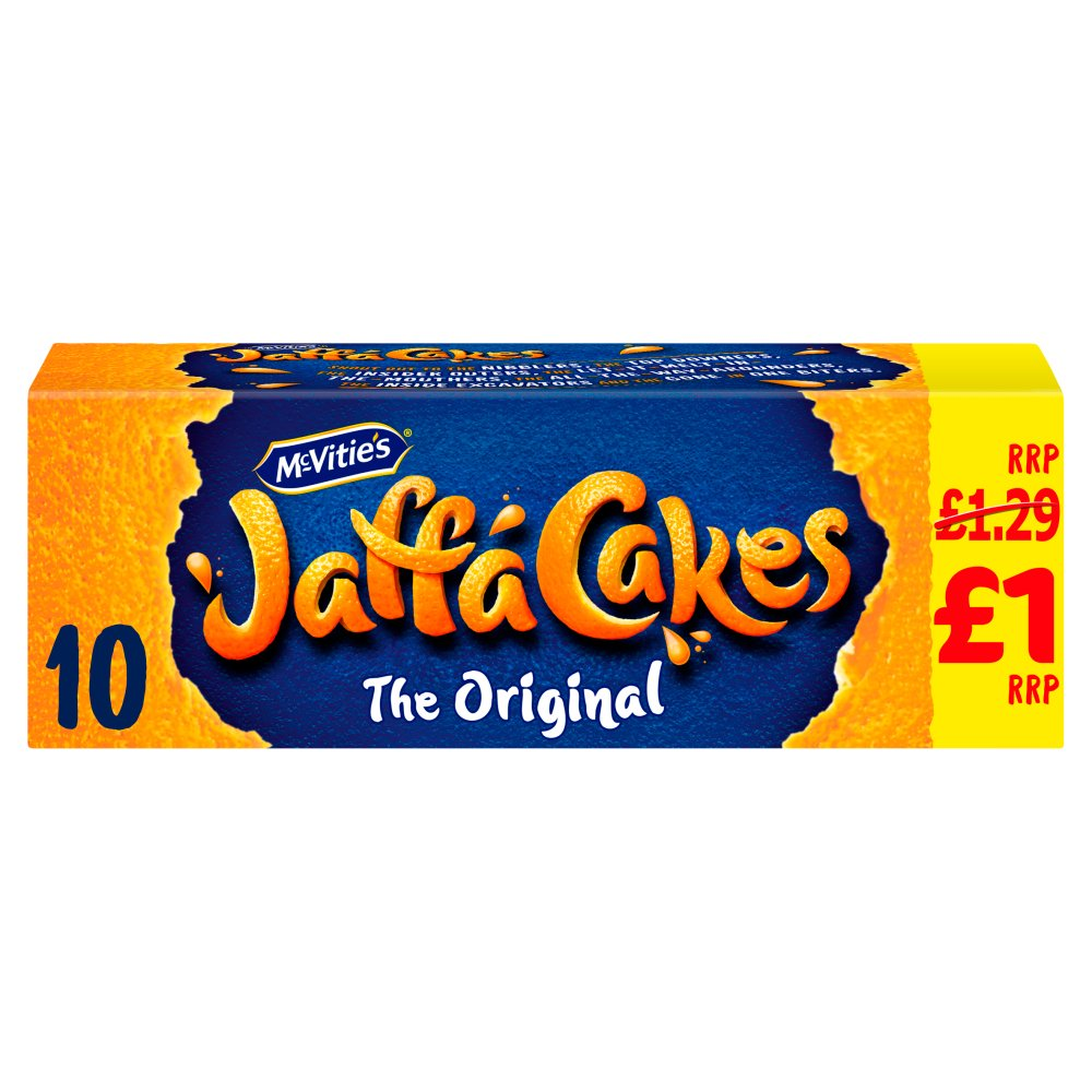 McVitie's Jaffa Cakes The Original Biscuits £1.00 PMP 10 Pack