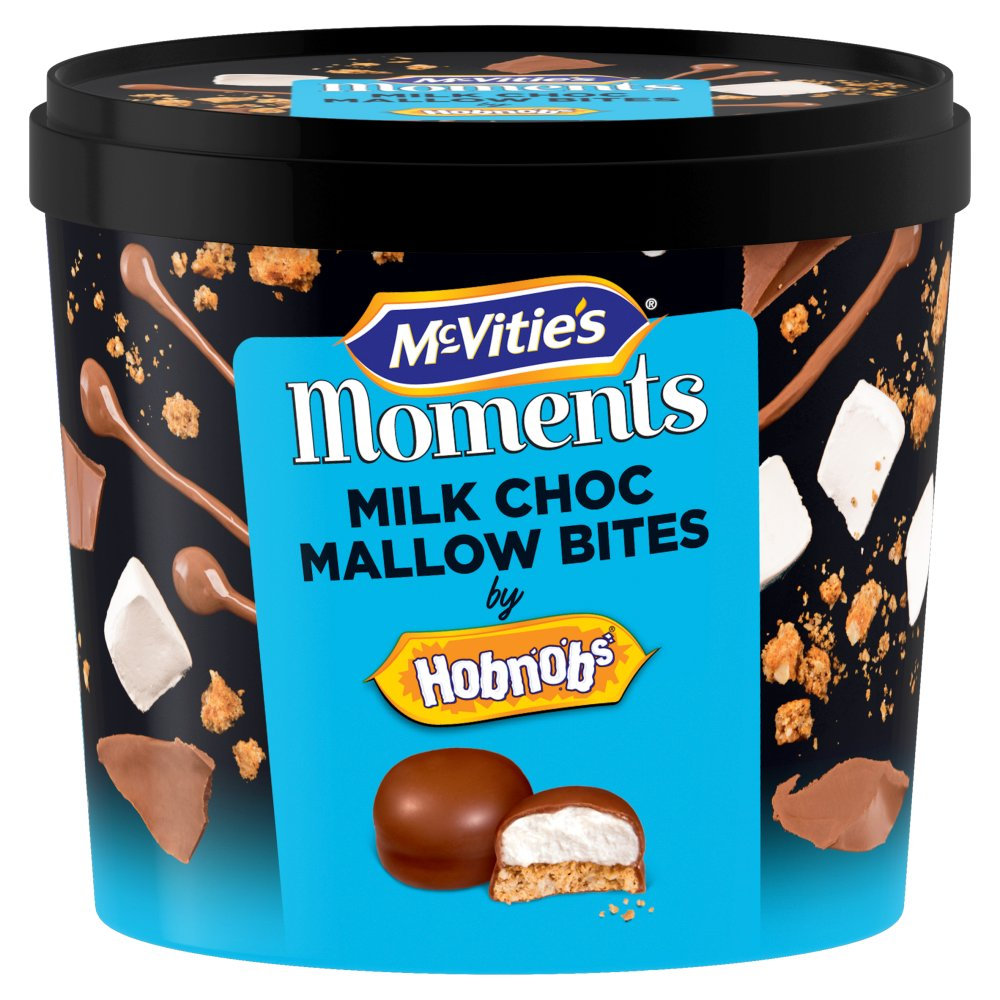 McVitie's Moments Milk Choc Mallow Bites 210g