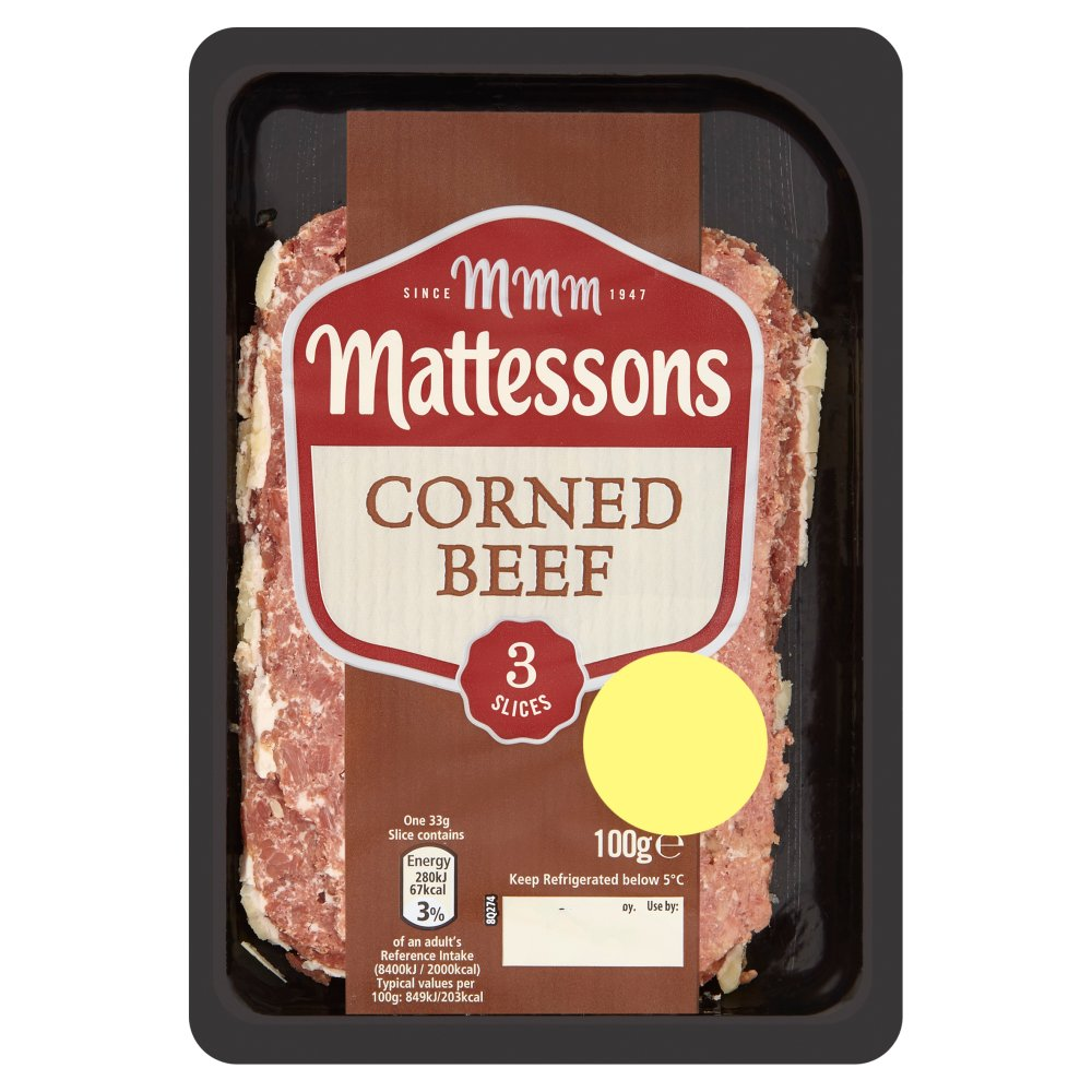 Mattesons Corned Beef £1.49