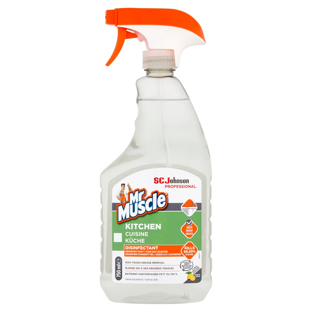 Mr Muscle® Kitchen Disinfectant 750ml
