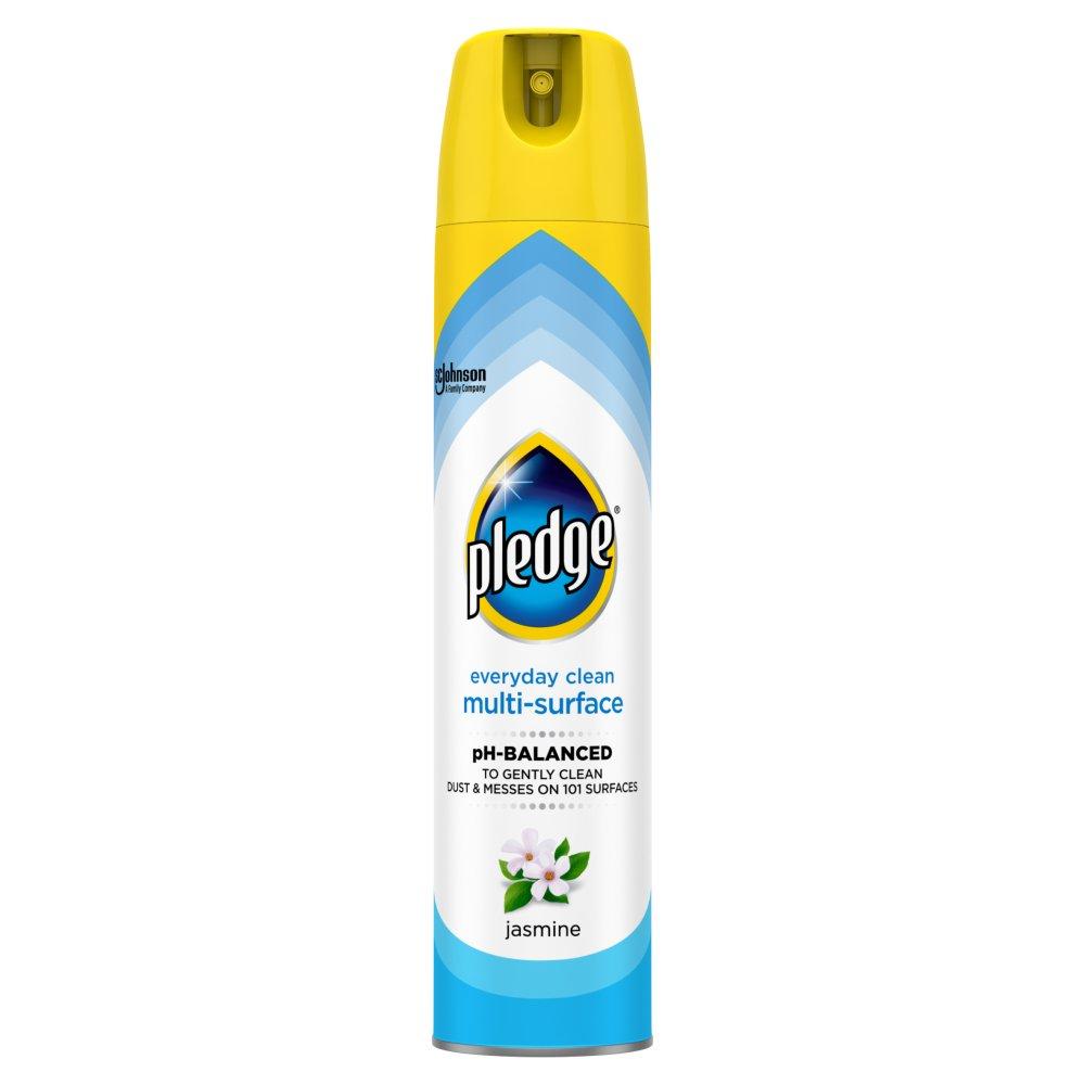 Pledge Clean It Multisurface Polish Cleaner Jasmine 250ml