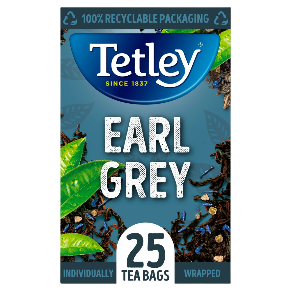 Tetley Earl Grey Tea Bags x25