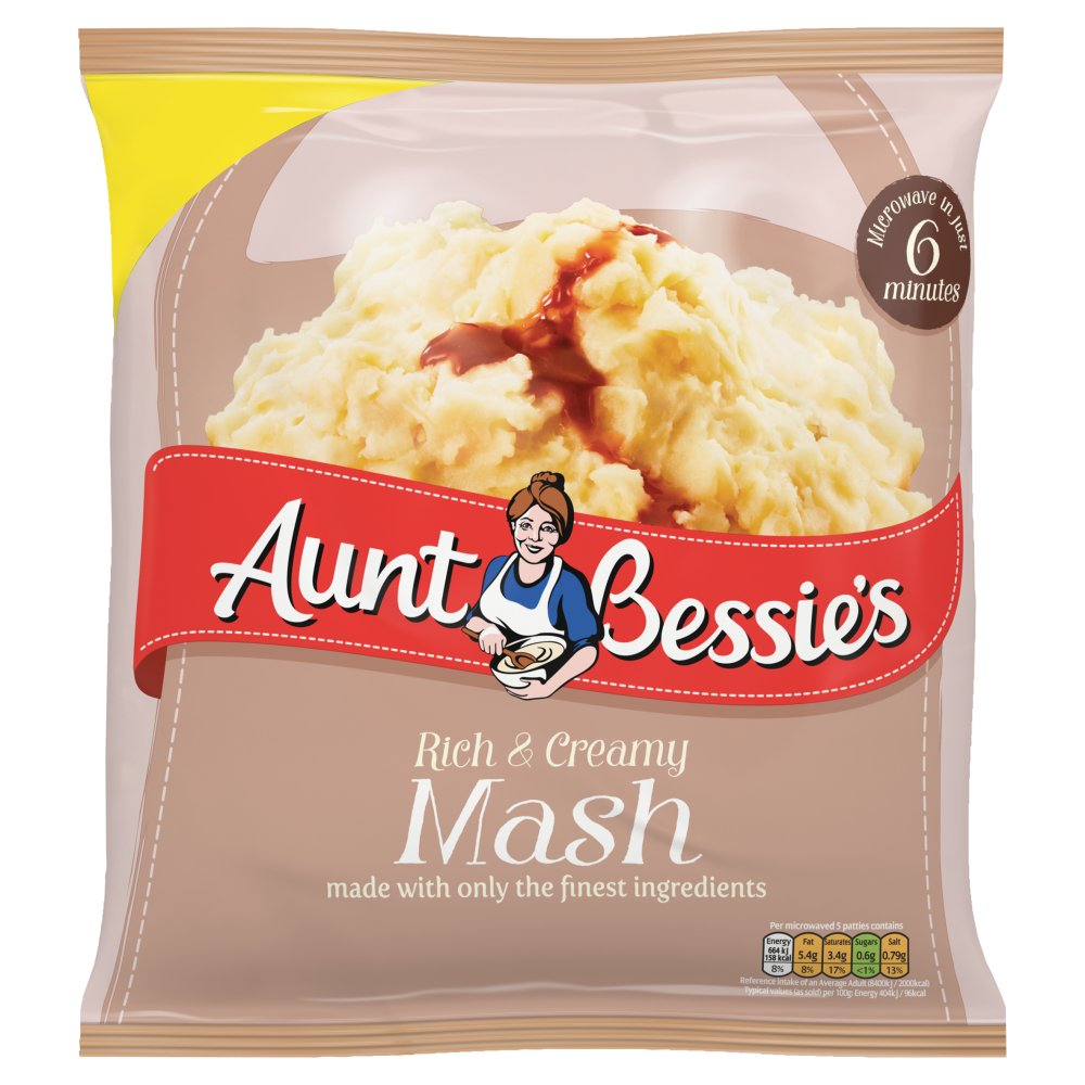 Aunt Bessies Mashed Potato £1.99