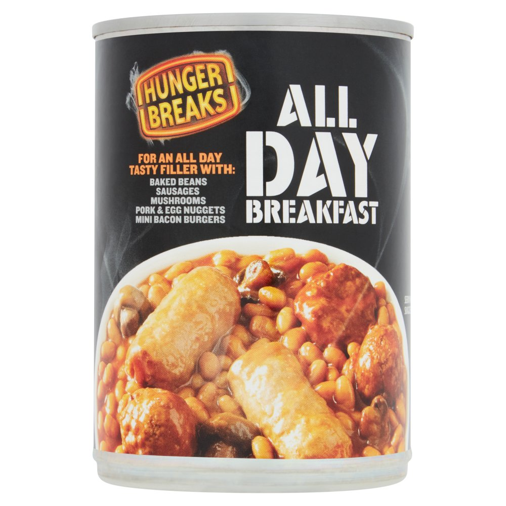 Hunger Breaks All Day Breakfast Tray 410g