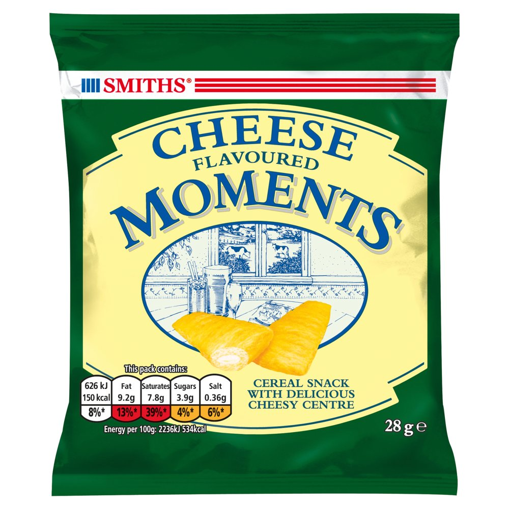 Smiths Cheese Moments Snacks Card
