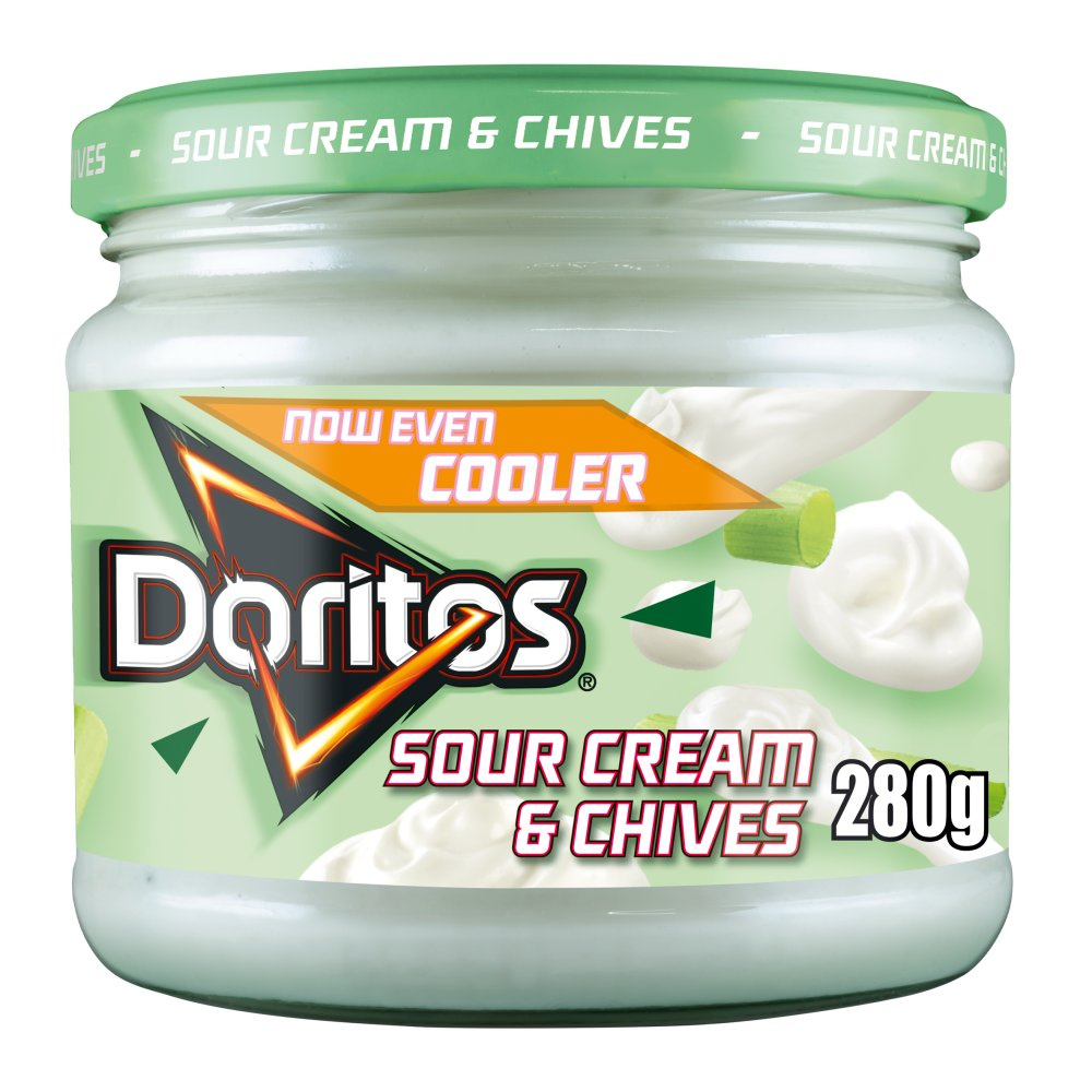 Doritos Cool Sour Cream & Chives Dip 300g