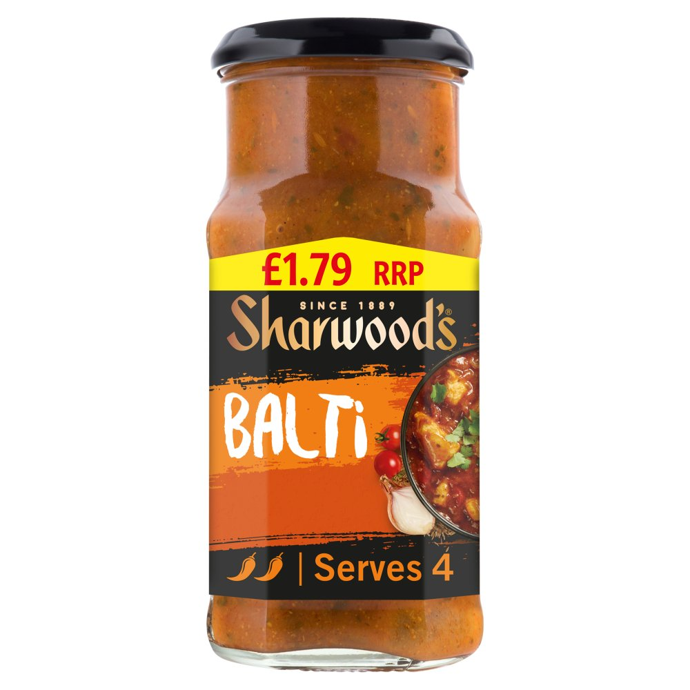 Sharwoods Cooking In Sauce Balti £1.79