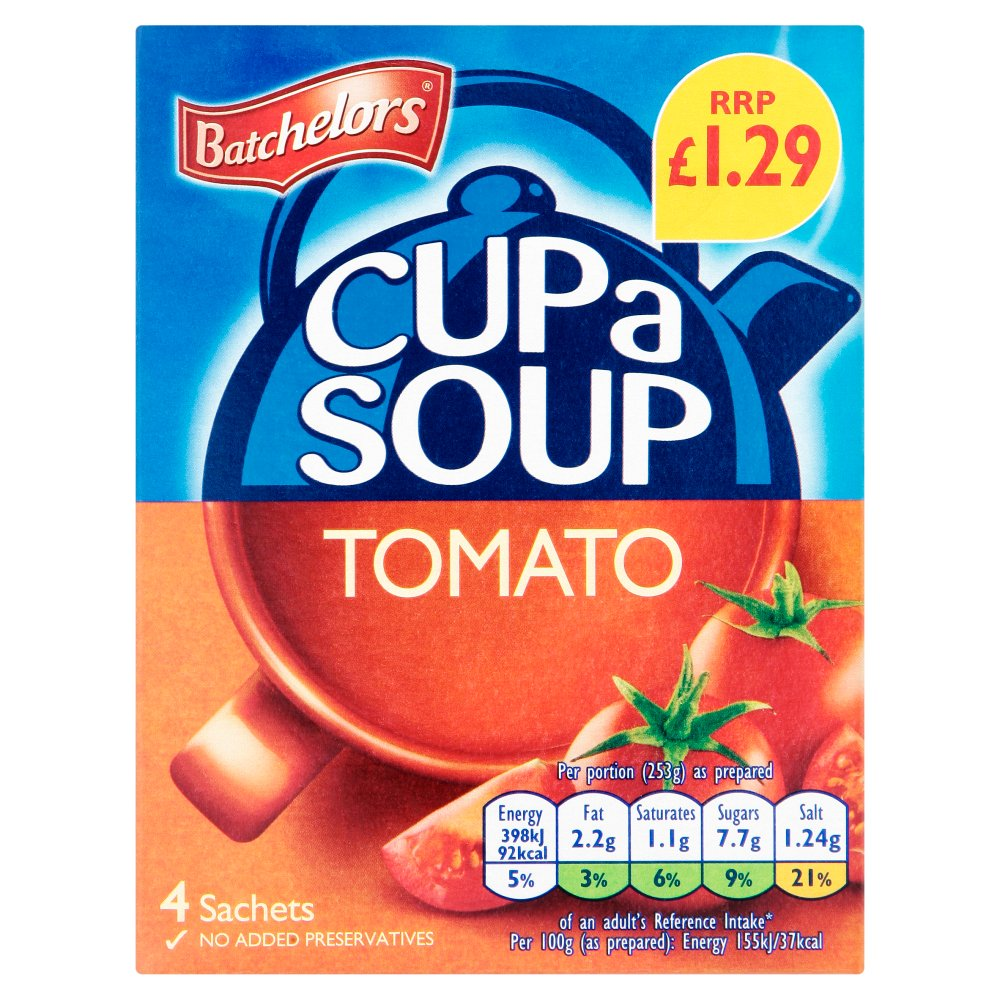 Batchelor Cup A Soup Tomato PM £1.29
