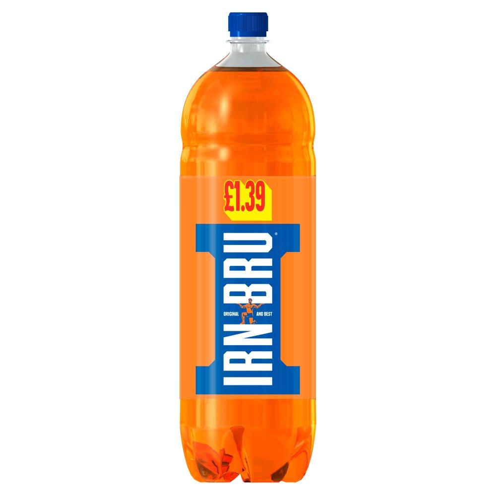 IRN-BRU 2L Bottle, PMP £1.39