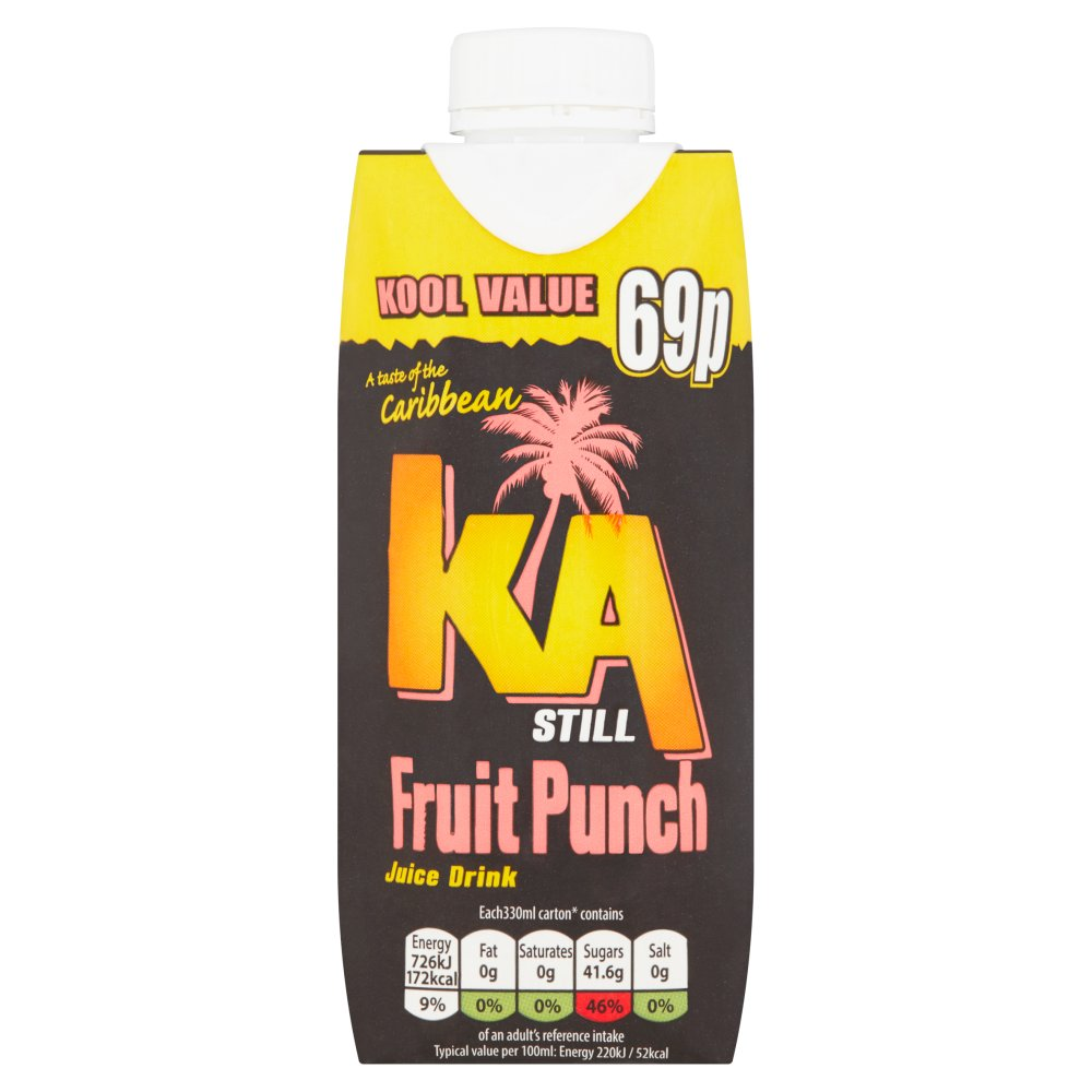Ka Still Fruit Punch 69p