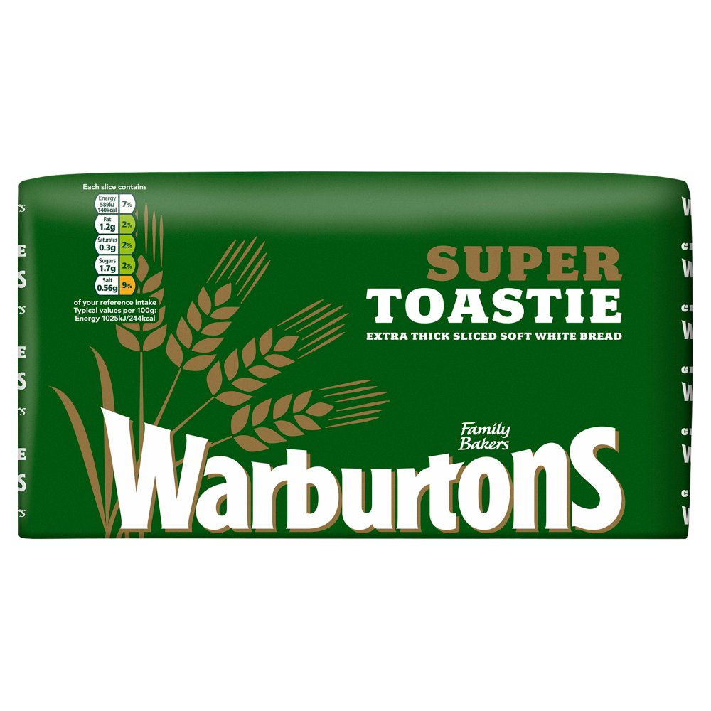 Warburtons Super Thick Bread