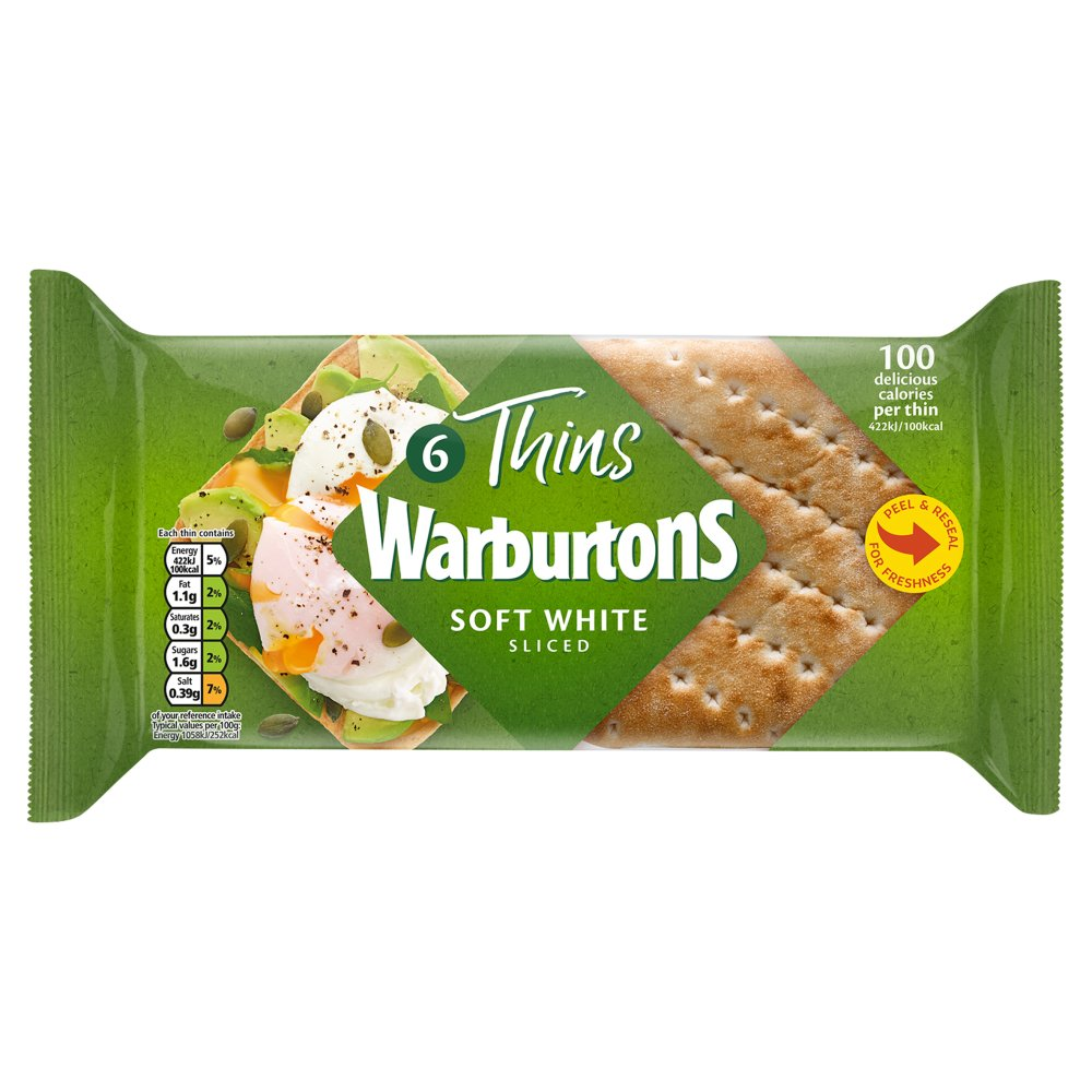 Warburtons Sandwich Thins