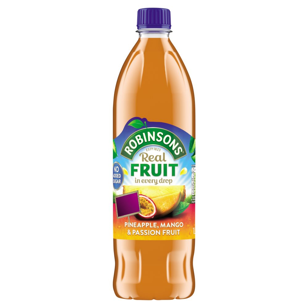 Robinsons Pineapple/Mango/Passionfruit Nas £1.49