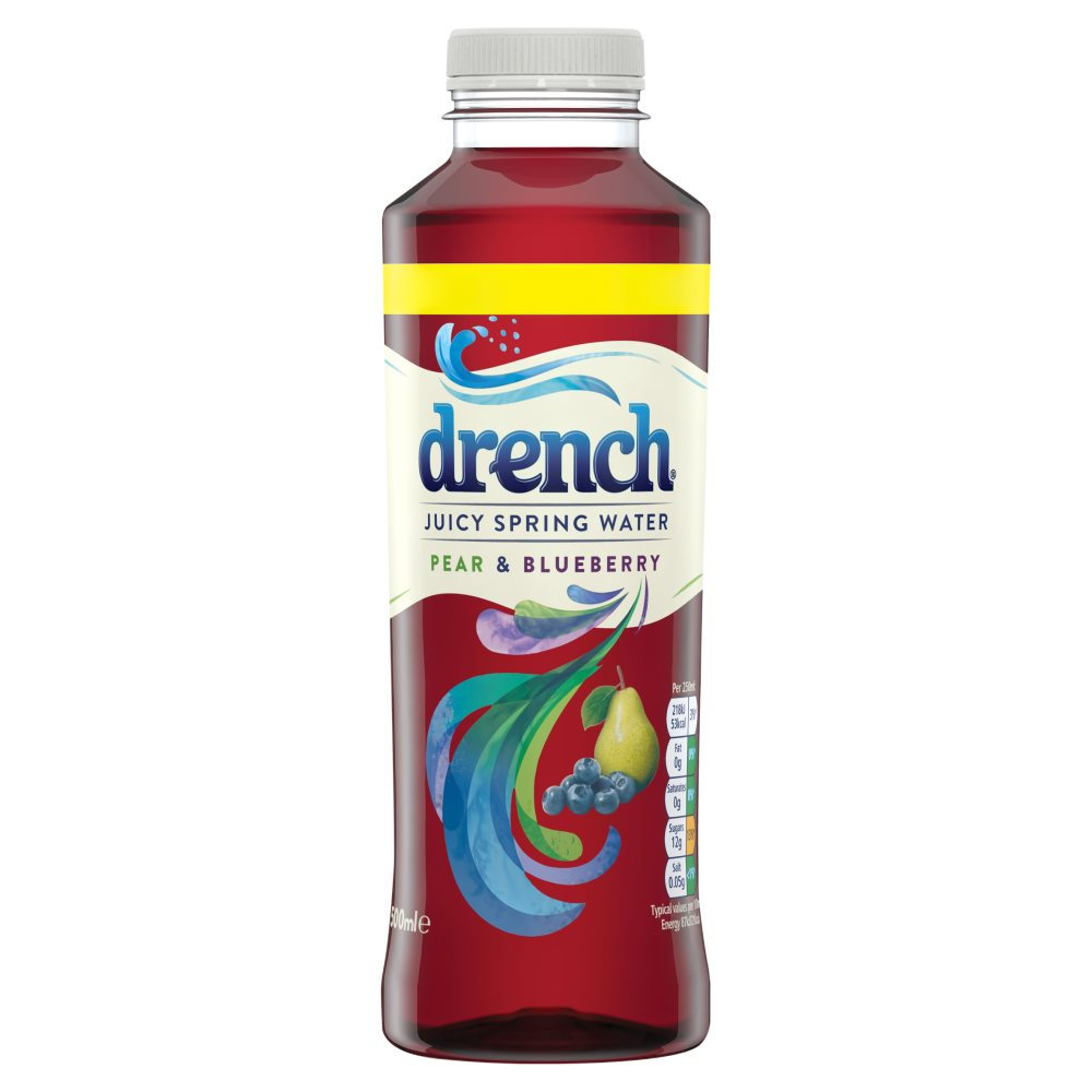 Drench Pear & Bluberry 99p