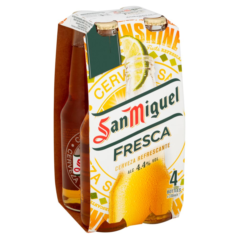San Miguel Fresca 4 For £5.00