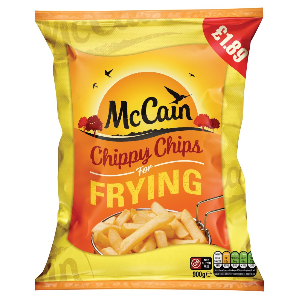 McCain Chippy Chips for Frying 900g