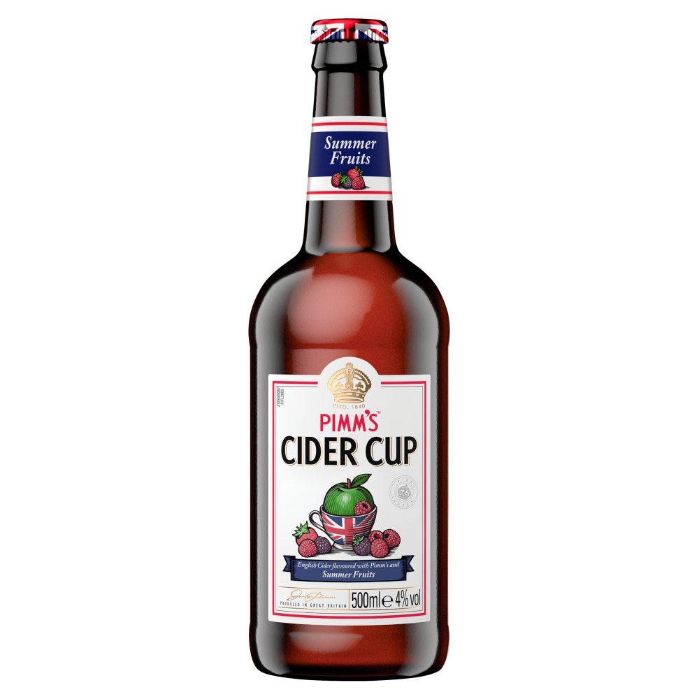 Pimms Cider Cup Summer Fruit