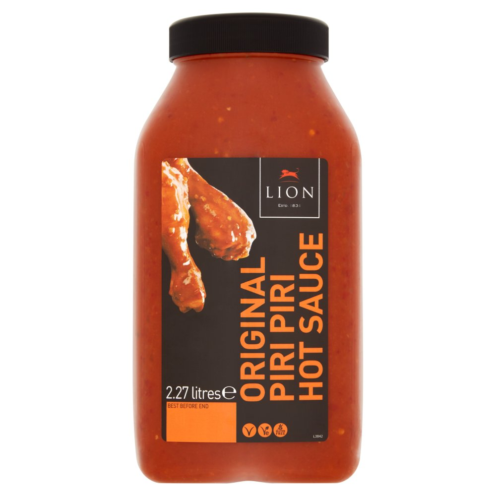 Lion Piri Piri Hot Sauce 2.27 Litres