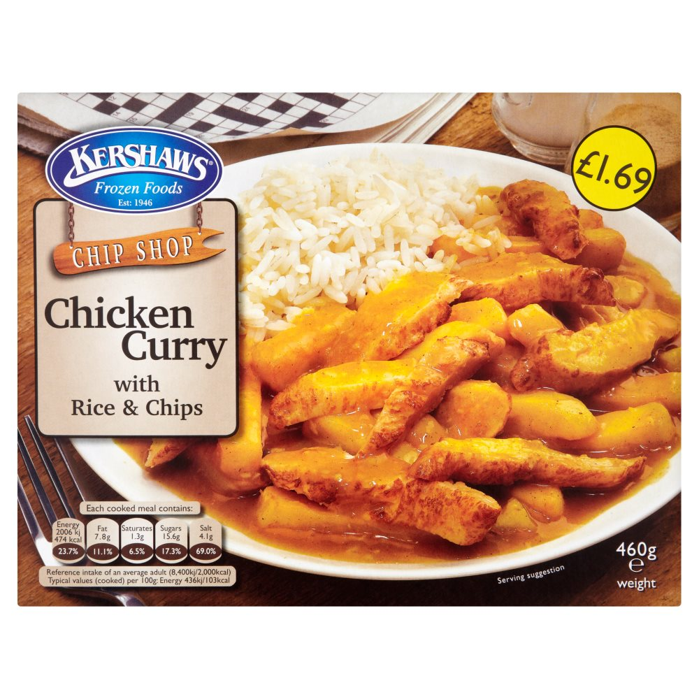 Kershaws Chicken Curry PMP £1.69
