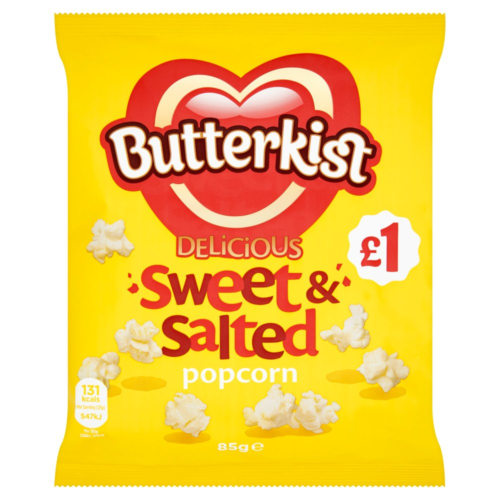 Butterkist Sweet & Salted PM £1