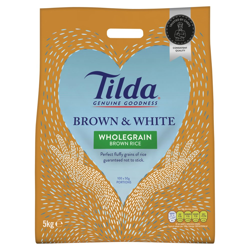 Tilda Brown N White Rice