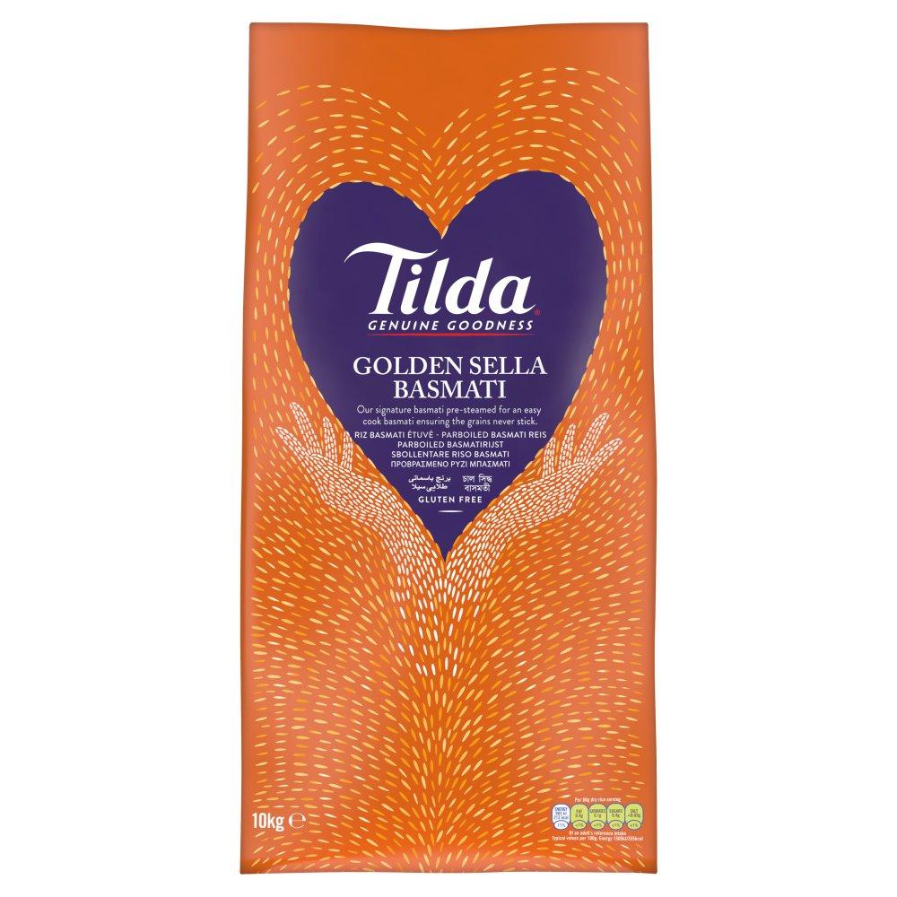 Tilda Golden Sella Basmati Rice 10kg :: Bestway Wholesale