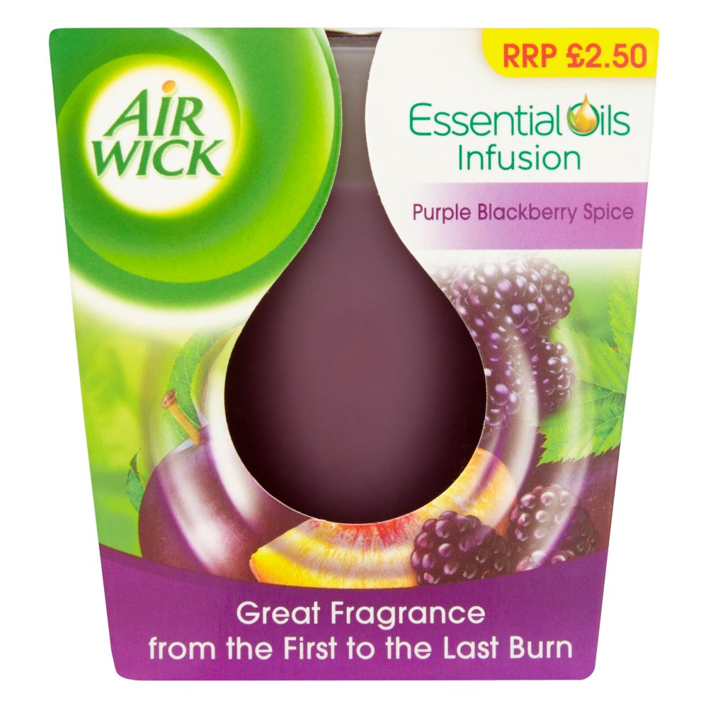 Airwick Candle Blueberry £2.50 PMP