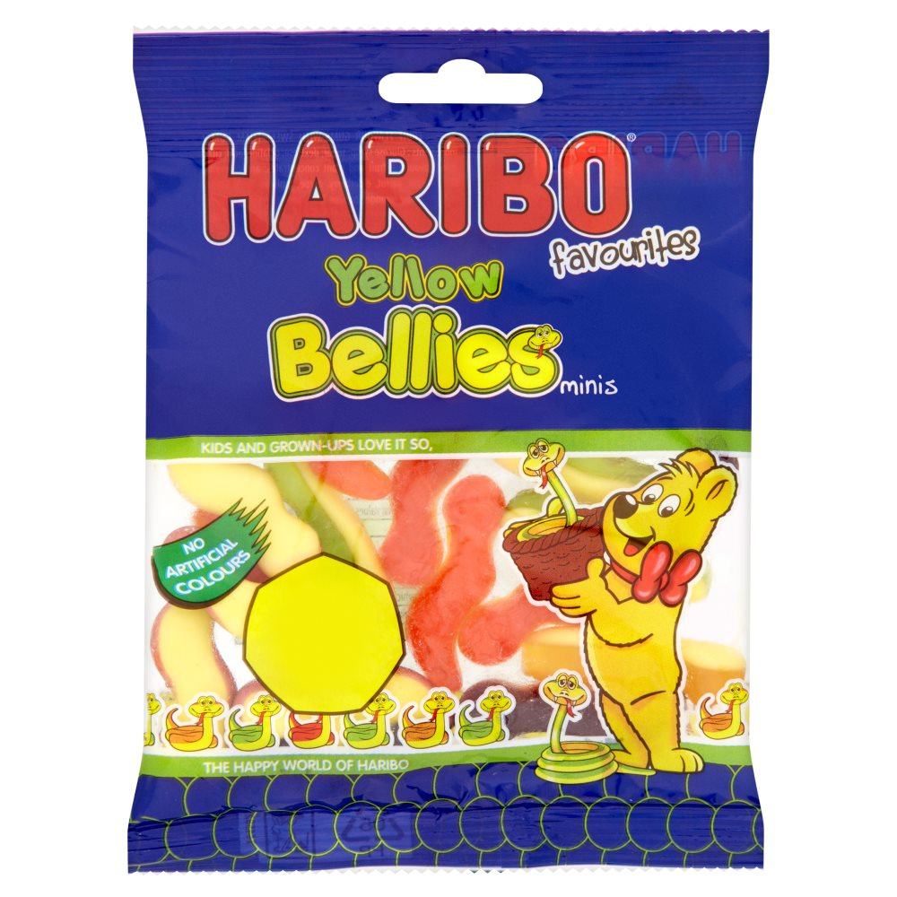 Haribo Mini Yellow Bellies PM 50p