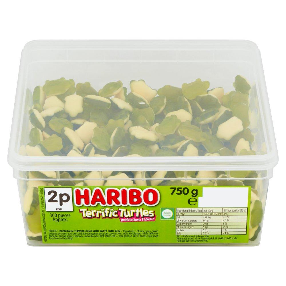HARIBO Terrific Turtles 300 Pieces 750g
