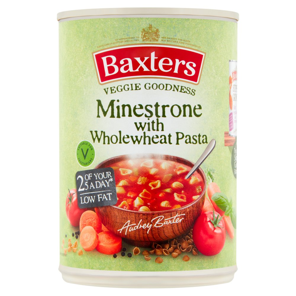 Baxters V Minestrone & Wholemeal Pasta Soup