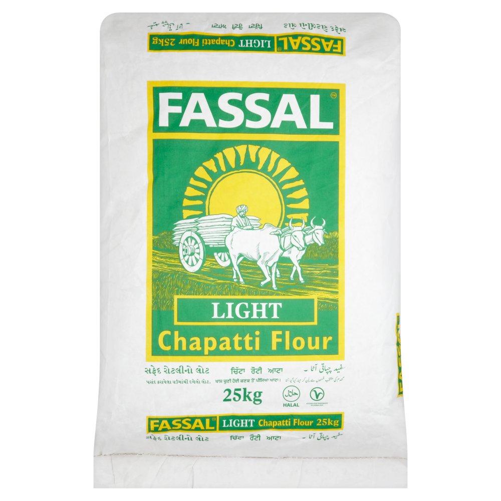 Fassal Light Chapatti Flour 25kg