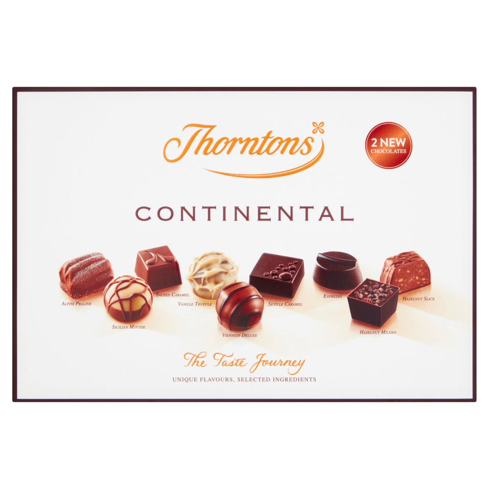 Thorntons The Taste Journey Continental Chocolate Box
