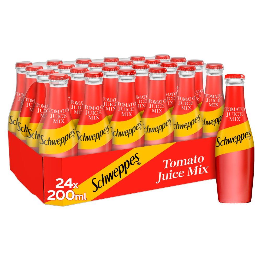 Schweppes Tomato Juice Mix 24 x 200ml