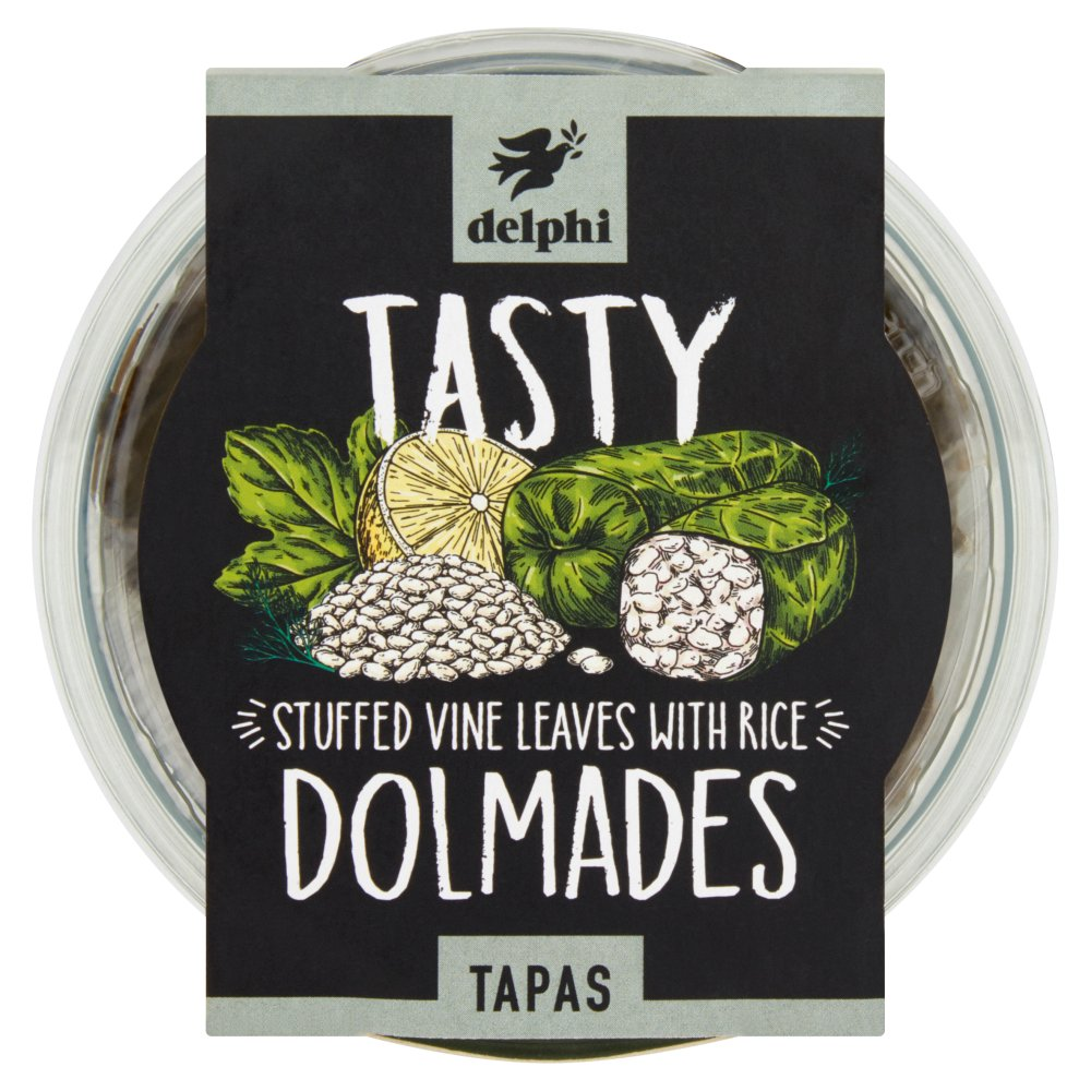 Delphi Tasty Dolmades Tapas 150g