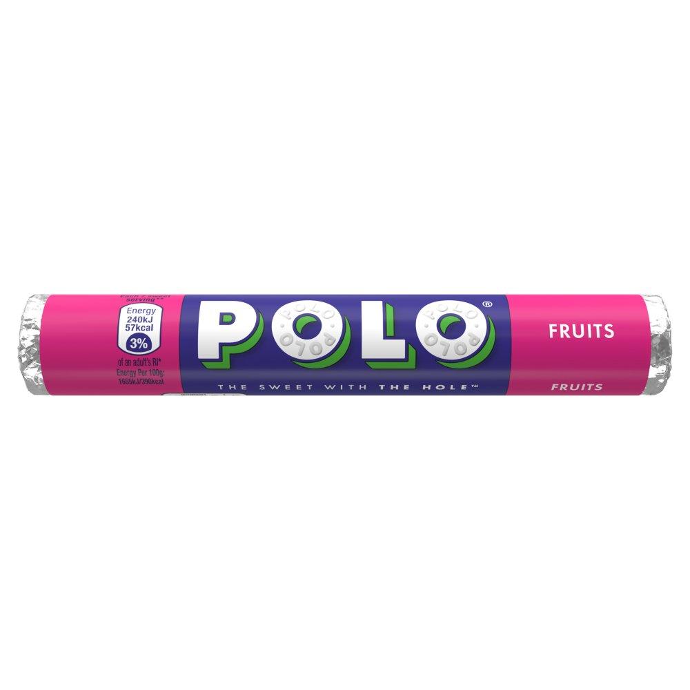 Polo Fruits Sweets Tube 37g