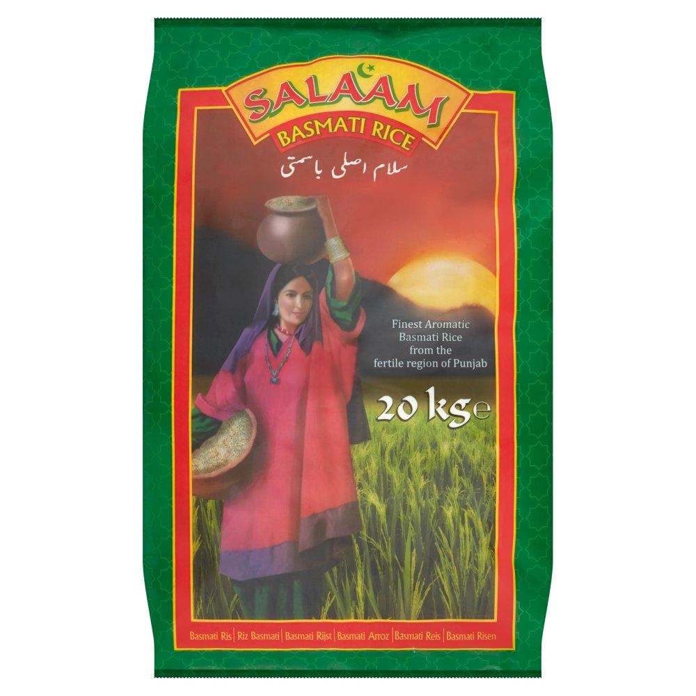 Salaam Basmati Rice 20kg