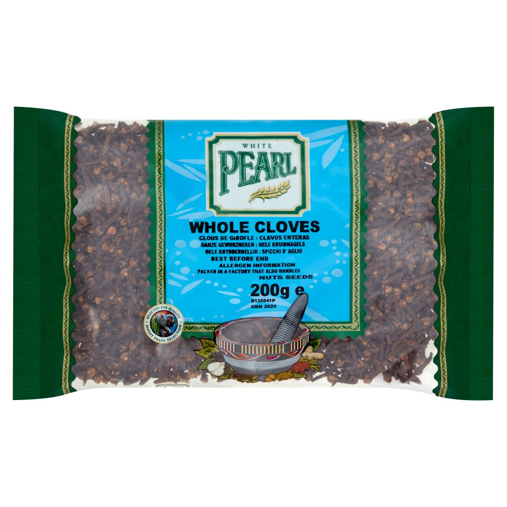 White Pearl Cloves Whole 200g