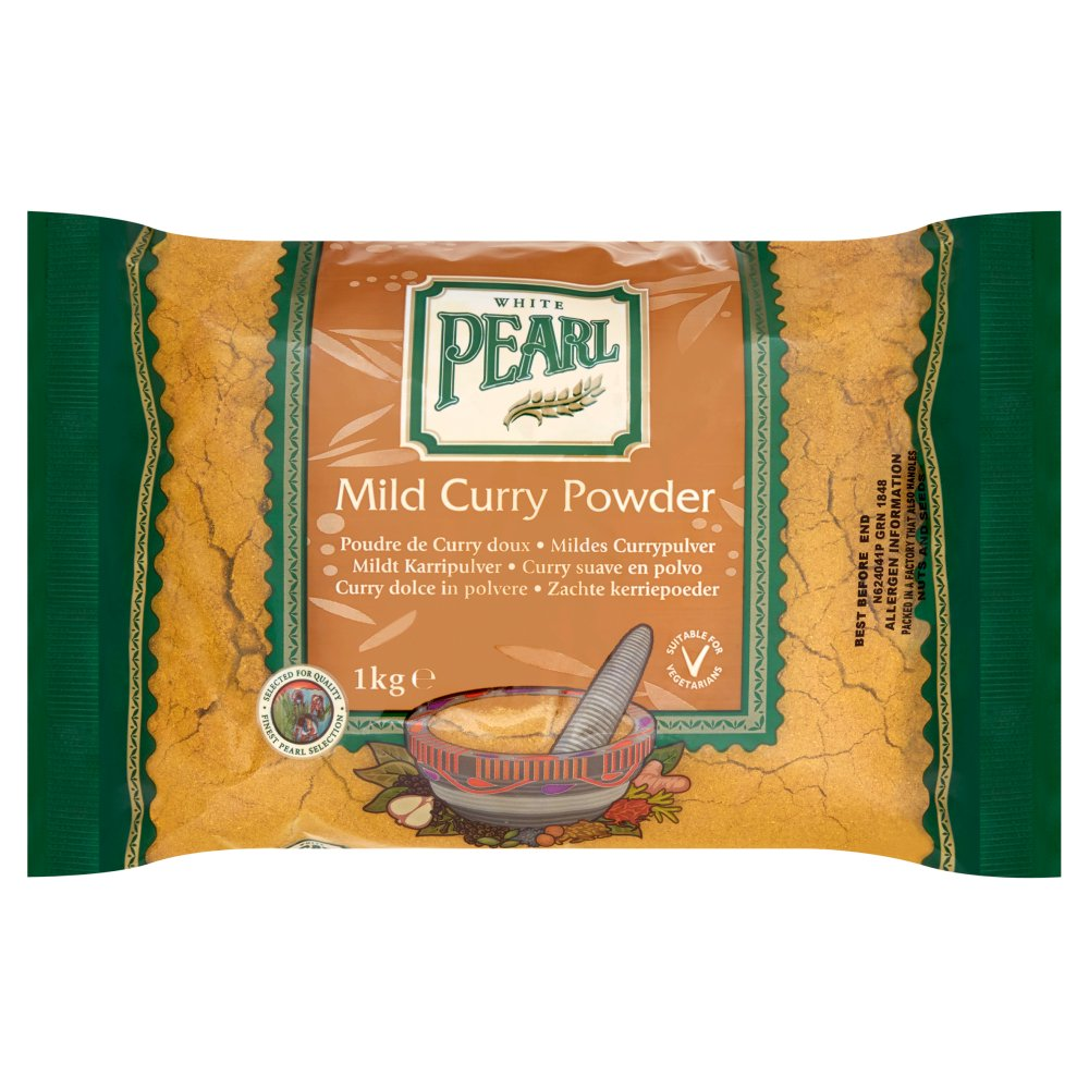 White Pearl Curry Powder Mild