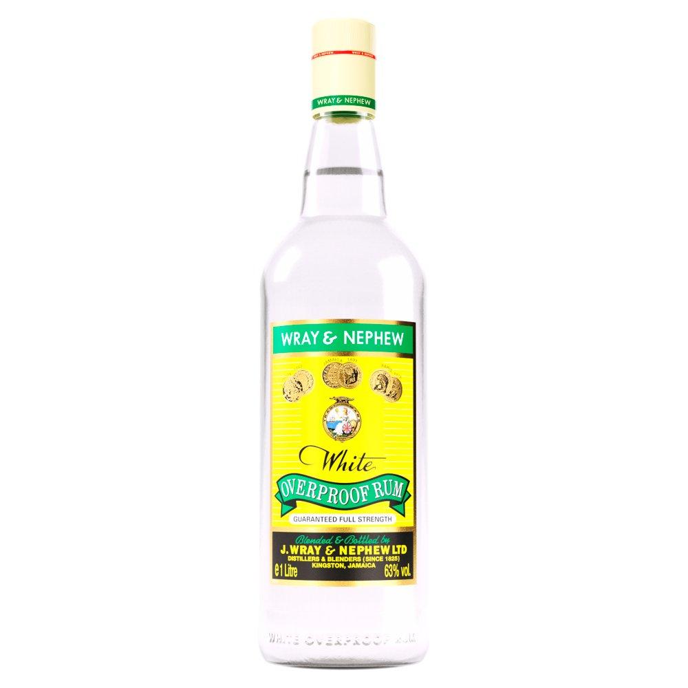Wray & Nephew White Overproof Rum 1 Litre
