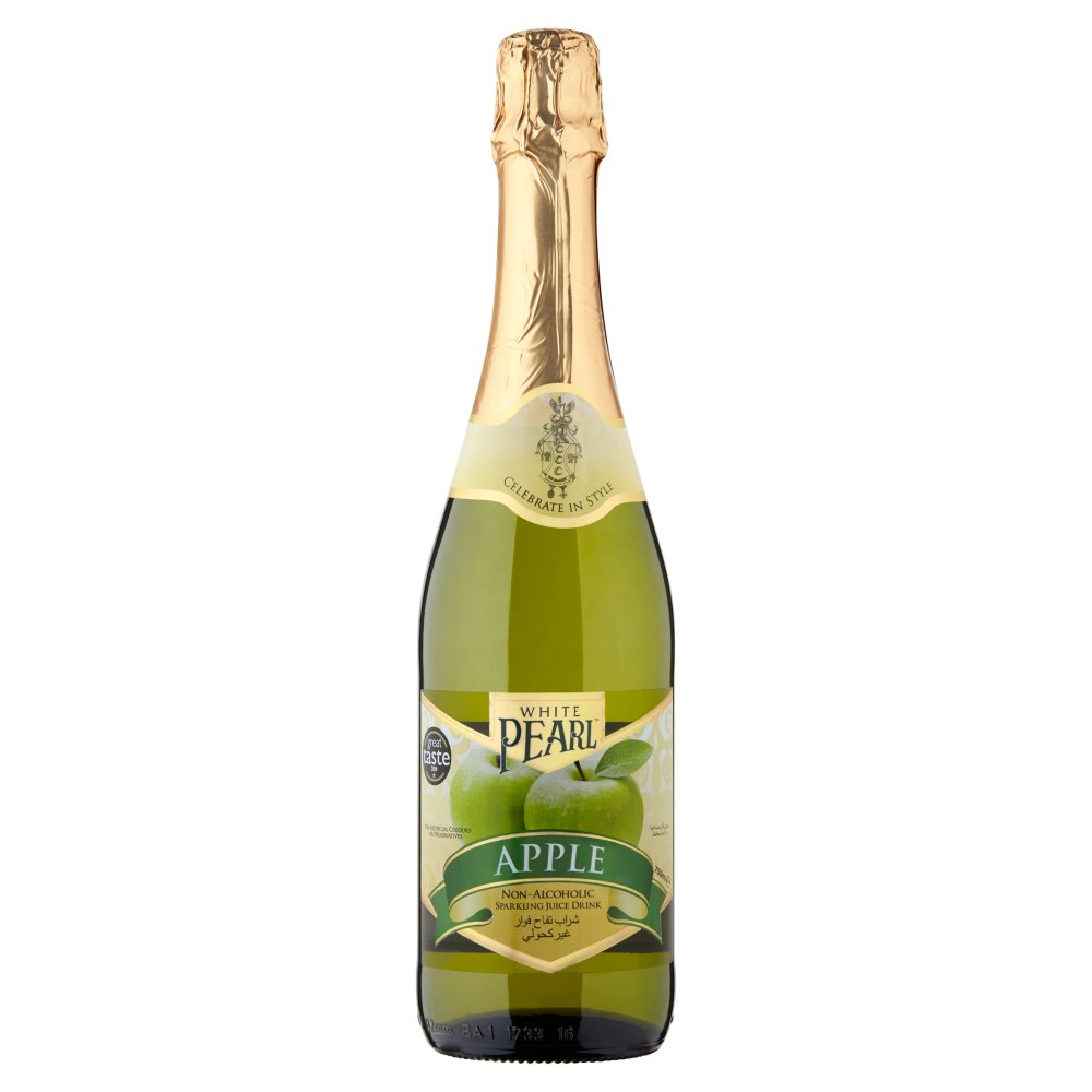 White Pearl Sparkling Apple Juice Nonalcohol