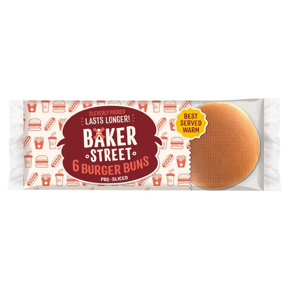Baker Street 6 Original Burger Buns