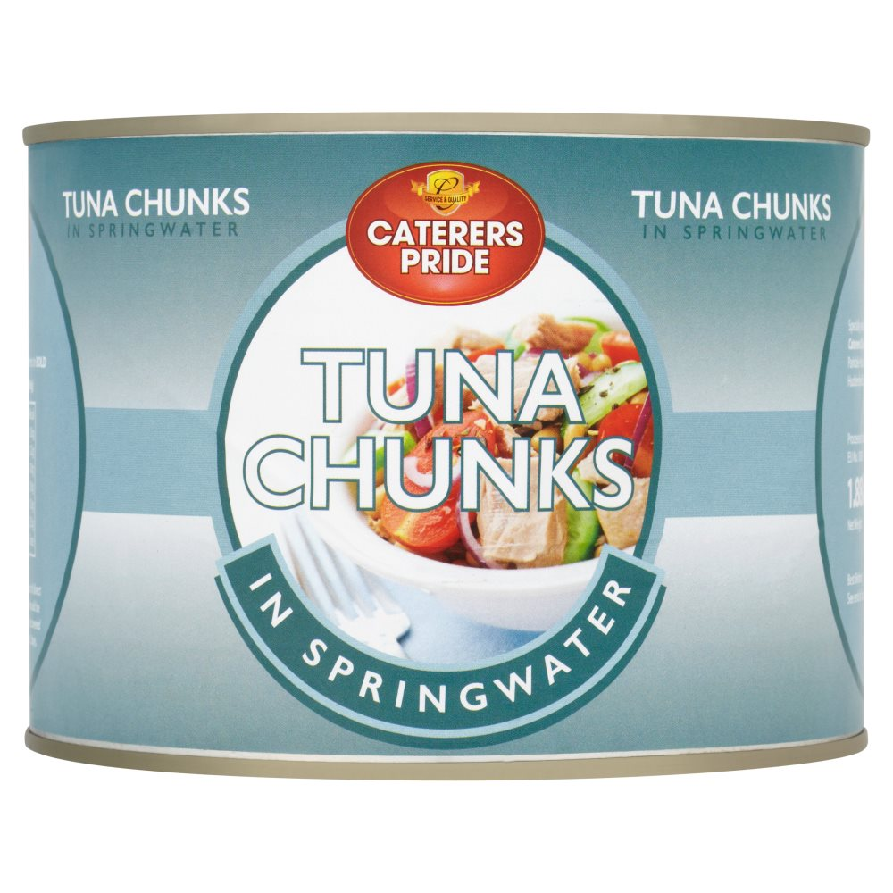Caterers Pride Tuna Chunk In Spring Water