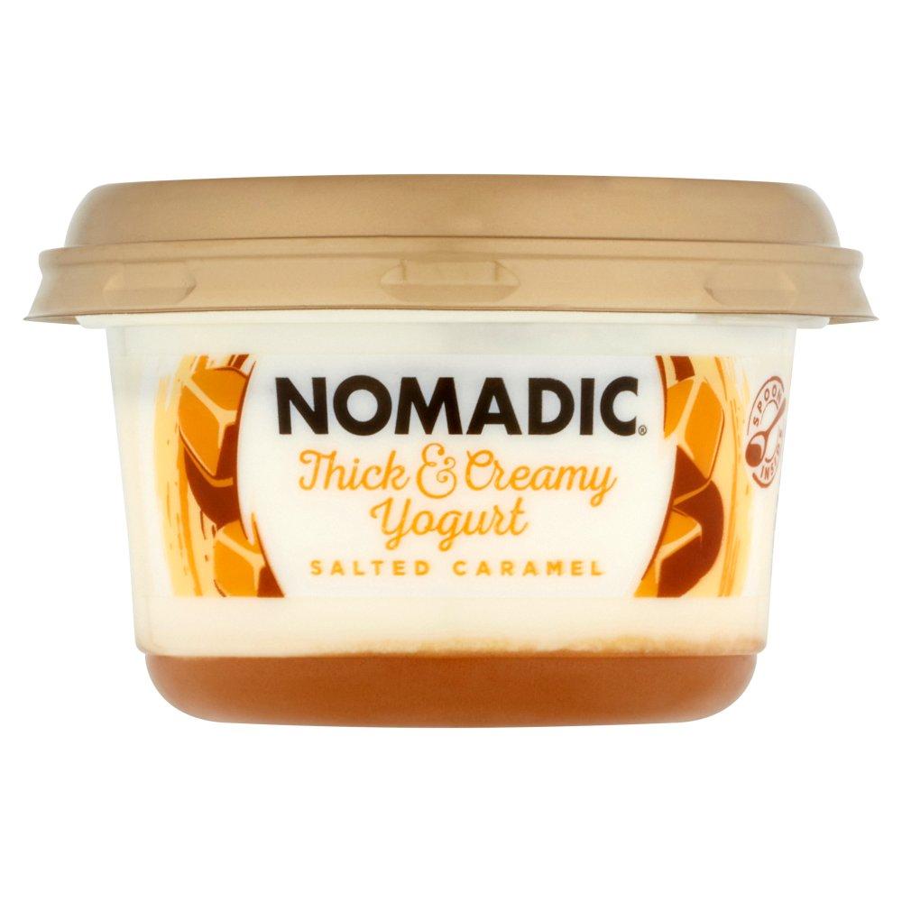 Nomadic Thick & Creamy Yogurt Salted Caramel 160g