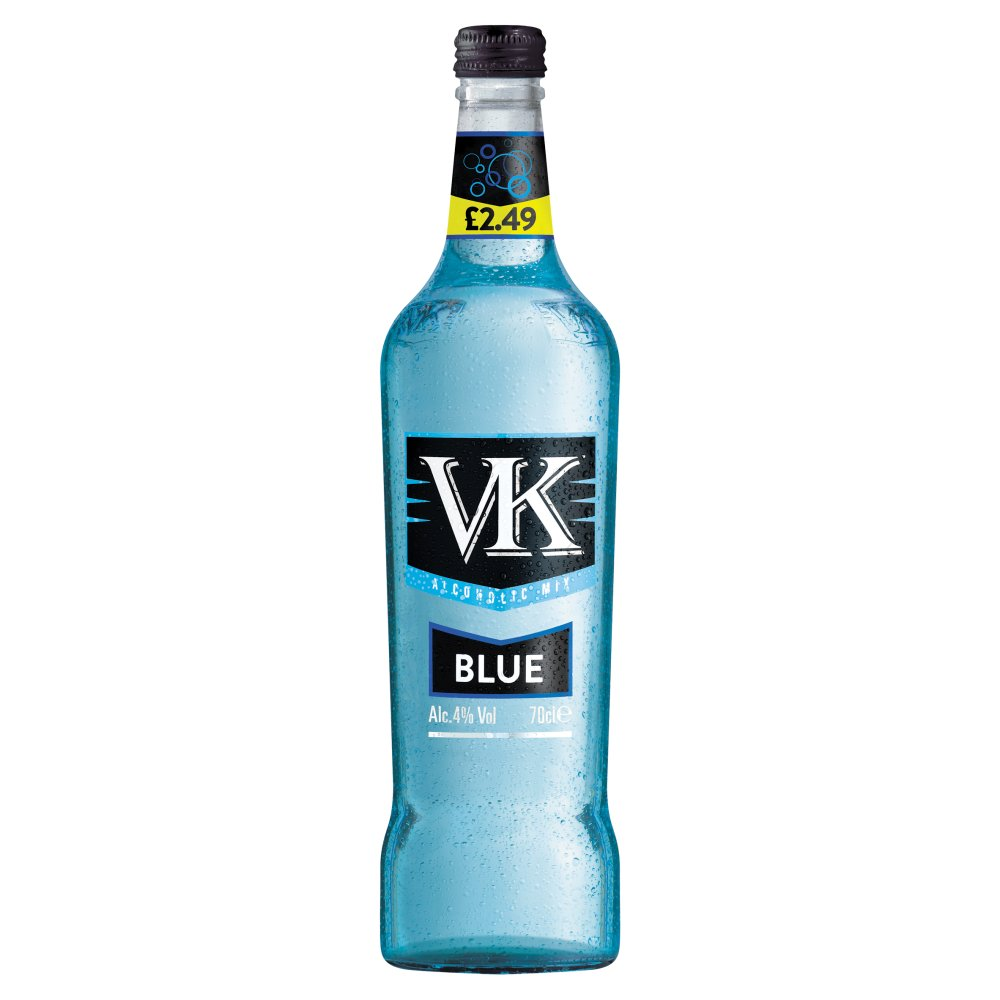 VK Alcoholic Mix Blue 70cl