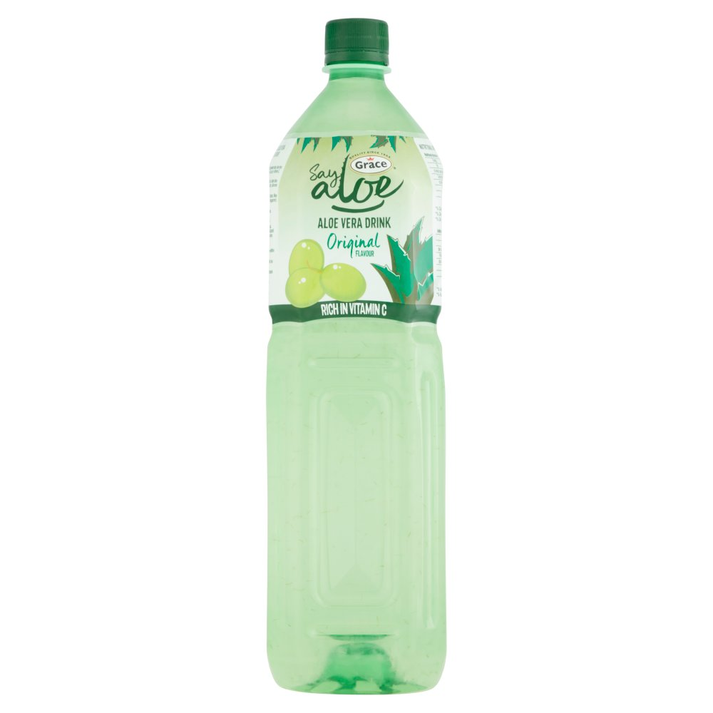 grace say aloe vera drink original flavour 1 5 litre bestway wholesale. Black Bedroom Furniture Sets. Home Design Ideas