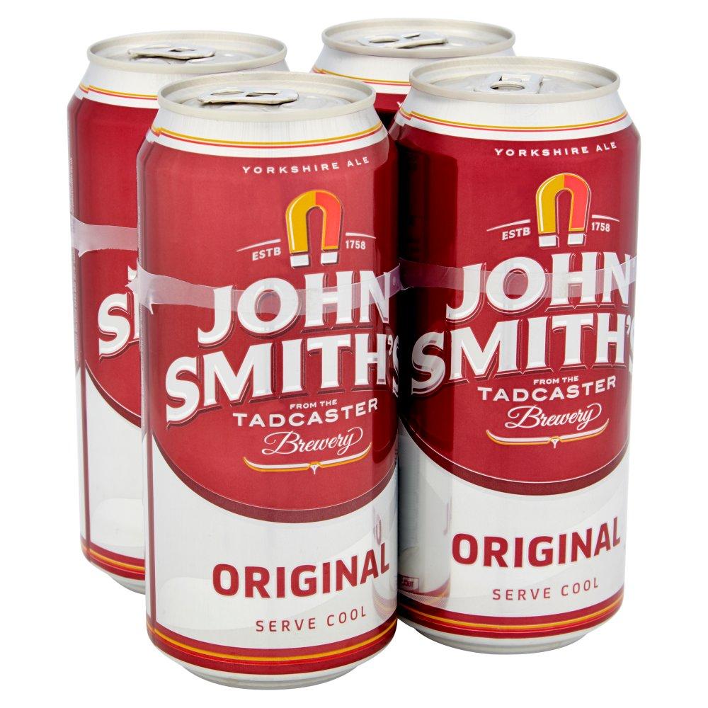 John Smith's Original Bitter Ale 4 x 440ml Cans