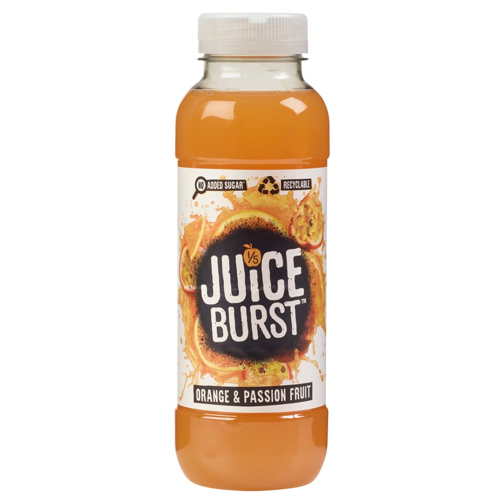 Juice Burst Orange & Passion Fruit Nas