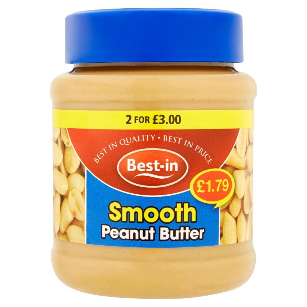 Bestin Peanut Butter Smooth PM £1.79