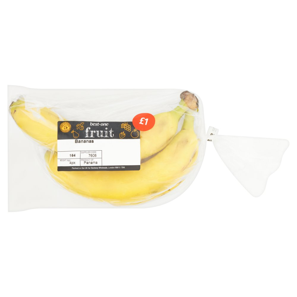 B/In Bananas £1 4pk